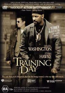 TRAINING DAY DVD Denzel Washington Ethan Hawke Movie - SAME / NEXT DAY FAST POST