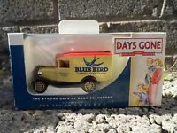 Days - gone Lledo - Model A Ford van - Blue Bird - diecast model