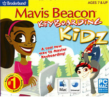 Mavis Beacon Keyboarding Kidz Typing Instructor for Kids PC Mac