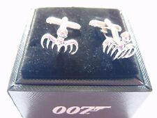 JAMES BOND 007 SPECTRE PAIR OF CUFFLINKS NEW BOXED OFFICIAL LICENSED PRODUCT