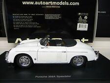 1:18 Autoart Porsche 356A SPEEDSTER white NEW FREE SHIPPING