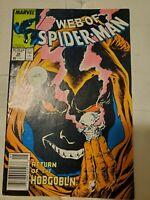 Marvel Comics Web Of Spiderman #38 Return Of Hobgoblin (Newsstand)