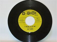 "Billy Harner - Message To My 7"" VG++ RARE Northern Soul on V-Tone everything's"