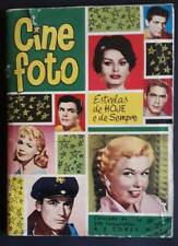 CINE PHOTO MOVIE STARS / STICKER ALBUM 1960 / JOHN GAVIN / BRIGITTE BARDOT
