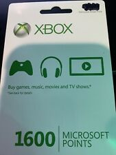 1600 Microsoft Points - Contact After Purchase For Code
