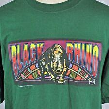 Black Rhino Video Reel Gambling Vintage T-shirt XL Promo IGT RTSI USA JerZees