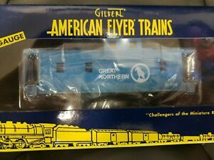 American Flyer 6-48757 S Scale Great Northern Extended Vision  Lighted Caboose