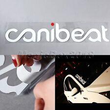 "Funny Car Decor Sticker ""Canibeat"" JDM VW Auto Windshield Window Laptop Decals"