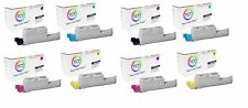 TCT 8PK Color High Yield Toner Cartridge Set For Xerox Phaser 6360 6360N 6360DN