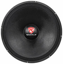"Rockville RVW1800P8 1800w 18"" Raw DJ Subwoofer 8 Ohm Sub Woofer 107OZ Magnet"