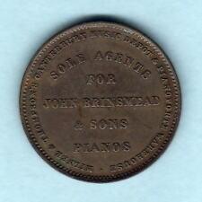 New Zealand - Token.  Milner & Thompson - Penny.  Christchurch.. gVF..  32mm