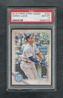 2018 TOPPS GYPSY QUEEN #300 AARON JUDGE NEW YORK YANKEES PSA 10 GEM MINT