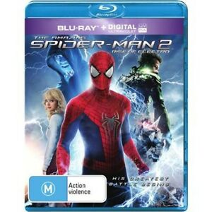 AMAZING SPIDERMAN 2, THE - Rise Of Electro (Blu-ray, 2014) NEW