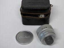 ELMO Pocket Auto movie camera Conversion Lens 25mm f1.8 MINT