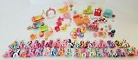 HUGE Lot of My Little Pony Ponyville 35 Ponies and Playsets/Accessories MLP
