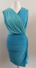 APART jersey dress aqua-bleu Blue SIZE 14 BRAND NEW WITH TAGS BOX81 24 N