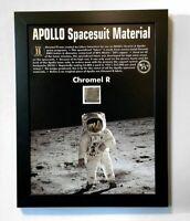 NASA Apollo Spacesuit - Original Chromel R - LEVA Boot & Glove Metal Fabric