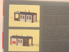 Pförtnerhaus m. Schranke - Auhagen HO Baus. 11434 #E