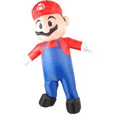 Inflatable Mario Costume Adult Super Mario Fantasy Cosplay Halloween Mascot