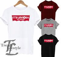 ITS LEVIOSA NOT LEVIOSA PRINT HARRY POTTER INSPIRED  UNISEX 100% COTTON T-SHIRT