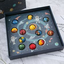 Planetary Chocolate Space Desert Sweet Candy Box Of Planet Gift Birthday