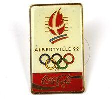 Coca-Cola Coke USA Lapel Pin Button Badge Anstecknadel - Albertville 92