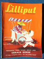 Vintage Lilliput Magazine - Published in 1952 - Issue 183 - Vol 31 - No 3