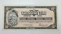 1974 Canadian Tire 10 Ten Cents CTC-S4-C1-EM Circulated Money Banknote E142