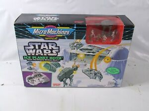 Star Wars Micro Machines Ice Planet Hoth From The Empire Strikes Back Playset