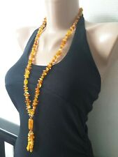 Natural Baltic Amber beads. 30.4 gr. Necklace