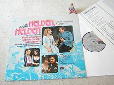 UDO JÜRGENS Helden Helden (Dt. EA Hamburg) GER LP + INSERT ARIOLA CLUB ED 61999