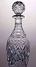 "STUART CRYSTAL ""CHELTENHAM"" CUT GLASS SPIRIT DECANTER (see description)"