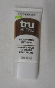 1 tube COVERGIRL TRU BLEND trublend FACE PRIMER DRY SKIN unsealed