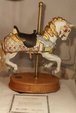 """1988 American Carousel Collection #8469 Musical Signed 12 1/4"""" Tall 777/9500"""