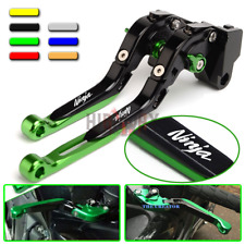 CNC Adjustable Extendable Brake Clutch Levers KAWASAKI NINJA 300R Z300 2013-2017