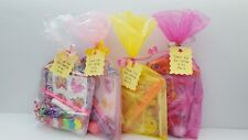 10 x Girls party bags pre-filled Party Bags For Children kids Birthdays,wed
