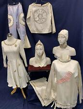 Vintage Costume Lot Of 7 Satin Pastels Gymnast Dance Life Savors