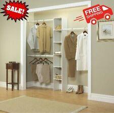 Vertical Closet Home Storage Organizer Furniture Shelves, 12