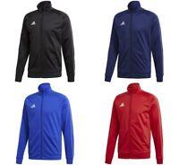 Adidas Core Boys Jackets Junior Top Kids Sports Jumper Running Training