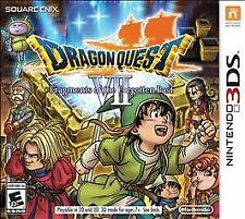 Dragon Quest VII 12 Fragments of the Forgotten Past SEALED Nintendo 3DS 3 DS 2DS