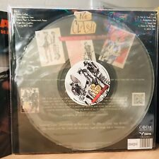 The CLASH LP Radio Clash From Tokyo CLEAR Vinyl Limited edition 2019 + Brochure