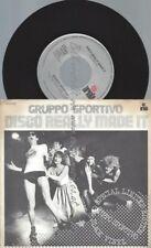 "7""  Gruppo Sportivo – Disco Really Made It"