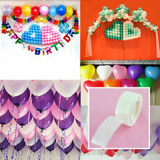 2x  Roll 100 Dots Glue Permanent Adhesive Wedding Party Balloon Decor Gift