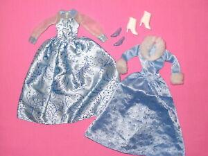 Mattel - Blue Barbie Doll Dresses Gowns