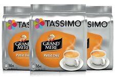 3 x Packs Tassimo Grand Mere Petit Déj' Breakfast Coffee T Discs Pods 48 Drinks