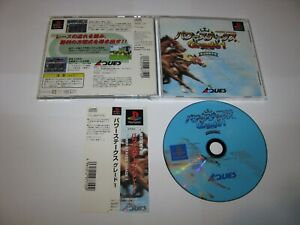 Power Stakes Grade 1 Playstation PS1 Japan import + spine card US Seller