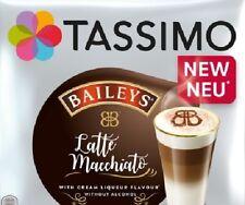 NEW! 4 Drinks Tassimo Latte Macchiato Baileys T Discs Pods - 8 Pods Sold Loose
