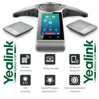 Yealink CP960-WM Conference Phone Enterprise w/ 2 Wireless Mics WiFi Bluetooth