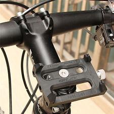 Adjustable Bicycle Bike Base Handlebar Stem Clip Mount Holder Stand For Phone