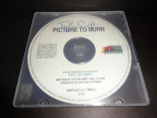 Taylor Swift USDJ PROMO CD Picture To Burn REPEATS 3X Big Machine Records RARE